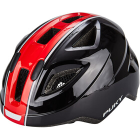 Puky PH 8 Casque Enfant, black/red